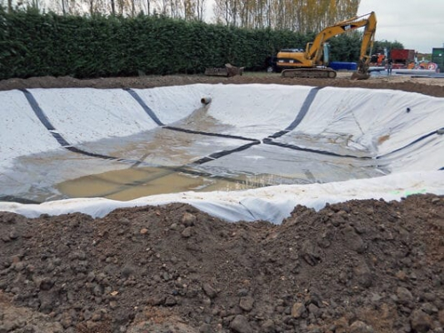 Entreprise travaux publics terrassement 28 aménagement bassin orage