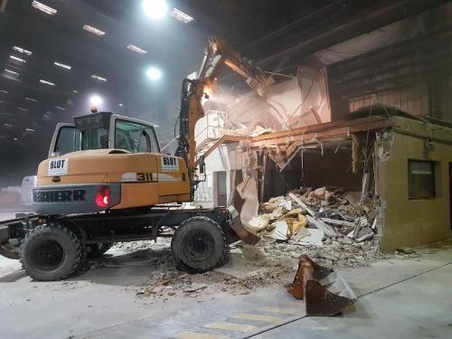 démolition bureaux