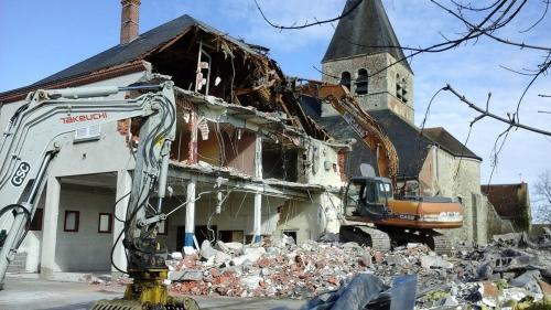démolition caserne