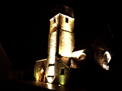 éclairage église