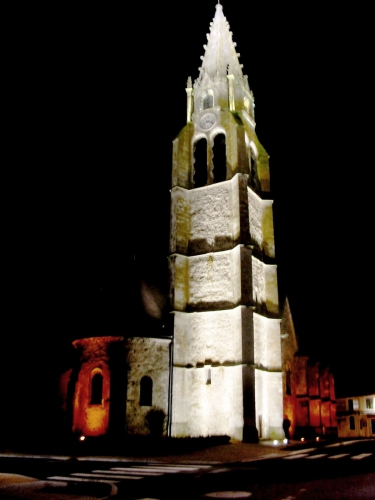 illuminations église