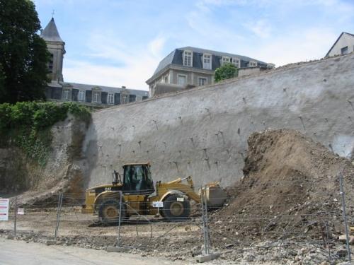 Entreprise travaux publics terrassement 28 remparts chateaudun
