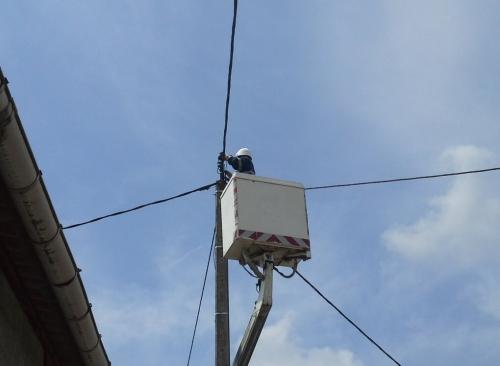 technicien hauteur éclairage