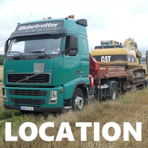 location engin chauffeur tp transport