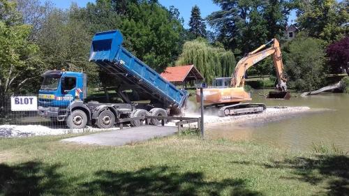 BLOT entretien rivière curage étang