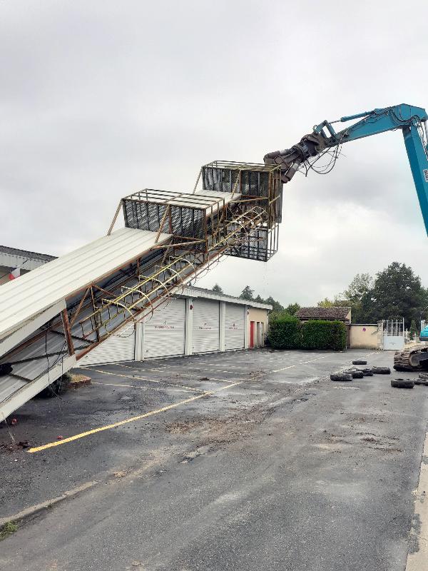 démantèlement démolition tour de séchage - Loiret
